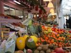 The local market: every kind of genuine foodies from local farmers to your table!