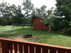 Nice yard for kids to play.