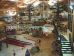 3 Bears Lodge Indoor Waterpark. Few minute walk. Fee required.