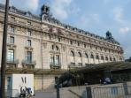 The Orsay Museum(1900) is  close to Concorde and so close to Haussmann.