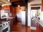 kitchen/ pantry, screened deck  with washer/dryer and BBQ