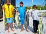 deepsea fishing, Mahi mahi and Wahoo