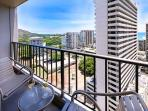 Your Private Lanai with Diamond Head, City, and Ocean Views