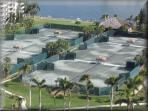 Plenty of tennis courts for the tennis lovers.