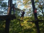 Zip Line in the mountains (Seasonal)