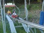 Visit the Mountain Coaster at Sky High Adventure Park at Holiday Valley