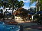 Tiki bar in the resort