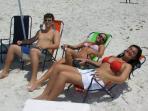 FREE $150 Beach Package! Beach Chairs, Cooler, Umbrella & Boogie Board.