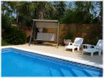 Huge Private Swimming Pool, 16' x 32', 8' deep end