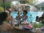 Having Fun here cannot be better then anywhere, Music, Water, Spa, Waterfall, Food, Drink. Fun.
