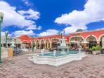 Walking distance to Marco Plaza. Restaurants, shops, movie theatre and refreshing ice cream shop!