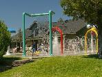 Kids Spray Park at the Rec. Center, Walking Distance from house.