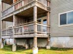 You'll simply love this condo's prime ground-level, corner unit location!