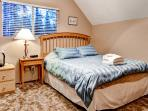 Upstairs bedroom next to the loft