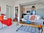 You'll love the contemporary furnishings and tasteful decor throughout this stylish unit!