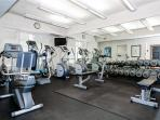 Enjoy included access to the on-site gym on the premises