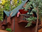Peace and serenity await you at this charming Lake Arrowhead vacation rental cabin!