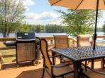 You'll love spending evenings barbecuing on the private deck.