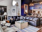You'll love lounging in this lavish living room