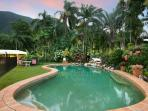 Your refreshing pool at  Jungara Cairns Bed and Breakfast