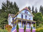 Choose this spectacularly charming Astoria vacation rental home for your next relaxing Oregon retreat!