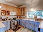 Prepare your favorite foods in the fully equipped chef's kitchen.