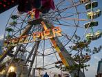 Steel Pier Amusement Part on the Board Walk!