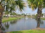 Stunning private lake & gazebo onsite.
