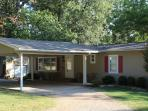 Double Carport w/Circle Drive, easy access