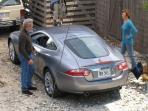 Richard Gere and Diane Lane Filming car scene