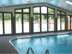 Indoor pool, hottub, sauna fitness room