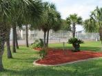 Resort has several tennis courts