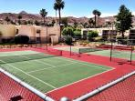 On Site Tennis here at the condo