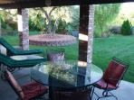 450 sf Covered Patio