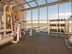 Exercise Area with View of Marshlands