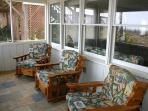 Rocking Chairs in Screened porch