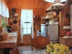 Crow Canyon Cabin - Kitchen