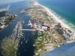 Aerial View of Destin