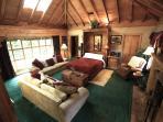 Living Room/Bed Room with Queen Murphy Bed