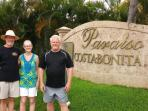 The owners:  John and Jane DeSchepper and Bob Pick.