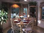 Octagon shaped Breakfast Room