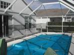 Winter Blanket on Pool