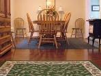Diningroom is 22ft long with room for 2nd table.
