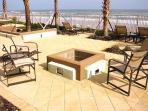 Oceanfront Fire Pit