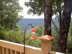 Enjoy bluff view while sipping a glass of wine!