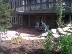Back yard/deck