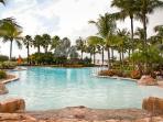 Resort style pool