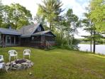 Waterfront Cottage on Patten Pond