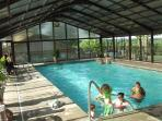 Indoor Pool with Clubhouse with Restaurant and Bar