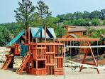 Playground near the Pavilion to keep the kids occupied during group events.